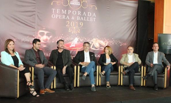 Teatro Regional de Rancagua lanza  Temporada de Ópera y Ballet 2019