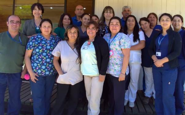 Auxiliares de Servicio celebraron su día en Hospital de Peumo