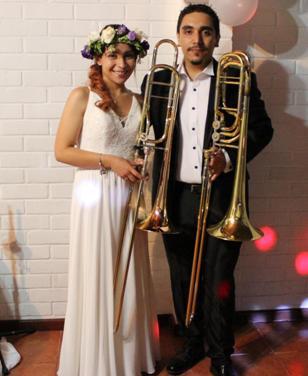 Ex integrante de la Orquesta Juvenil es la primera trombonista de Chile