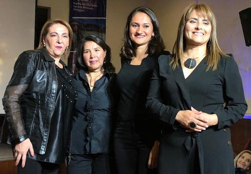 Emprendedoras de SernamEG O'Higgins organizaron exitoso desfile de modas