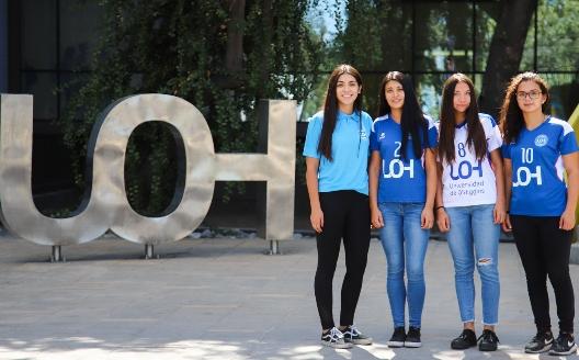 Las estudiantes de la UOH que brillan en el fútbol profesional femenino