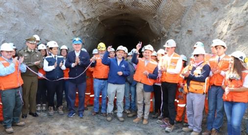 Inauguran túnel minero para fines educativos financiado por Gobierno Regional