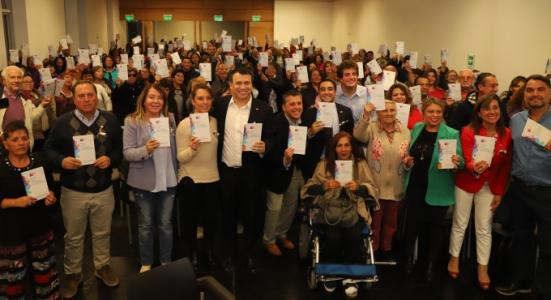 Intendente Masferrer y Subsecretario de Gobierno lideran lanzamiento de la Guía de Fondos Concursables en O´Higgins
