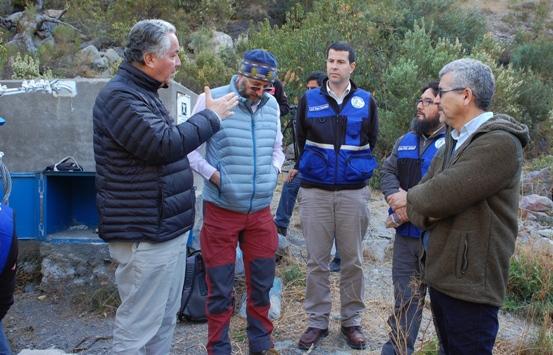 MOP O'Higgins inspecciona estaciones fluviométricas de manera preventiva ante emergencias