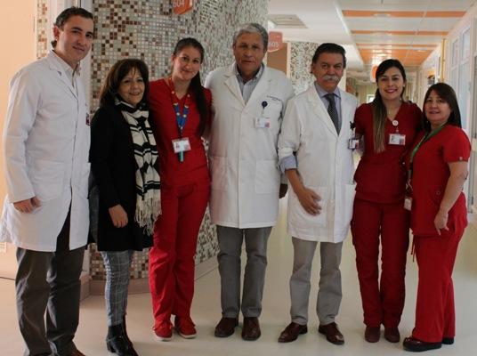 Autoridades visitan Servicio de Maternidad del Hospital Regional LBO
