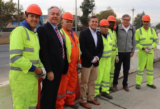 Intendente Masferrer entrega obras que mejoran la conectividad y seguridad de la Ruta Travesía