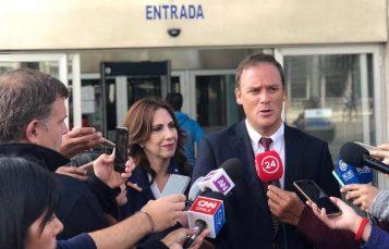 """Ministro Ward por allanamiento en caso playa Mónaco: """"La ley se va a aplicar y vamos a defender a las personas"""""""