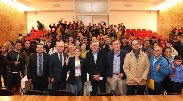 Representante diplomática de Venezuela visitó Rancagua
