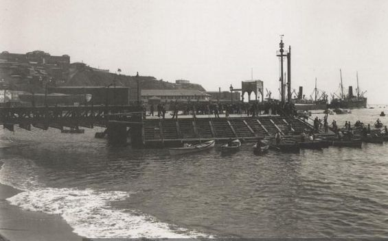 El puerto de Valparaíso, el origen del Cuerpo de Bomberos de Chile