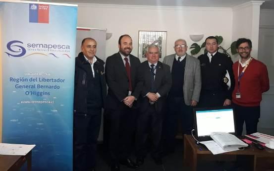 Avanza Ley de Caletas, SERNAPESCA constituye comisión intersectorial que aprobará planes de desarrollo económico y productivo