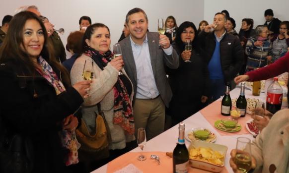 Intendente Masferrer inauguró sede social en villa Valle Central de Requínoa