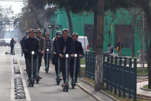 Scooters Eléctricos comenzarán a operar en el Área Metropolitana de O'Higgins