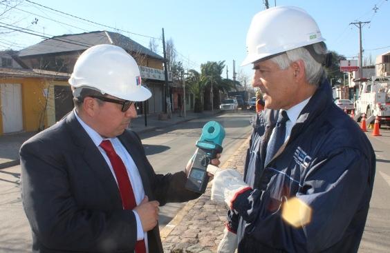 Autoridades de energía destacan mejoras en Indicador SAIDI en la región de O´Higgins