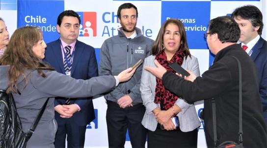 Con ChileAtiende San Fernando ya son 45 los centros de atención inclusivos en todo el País