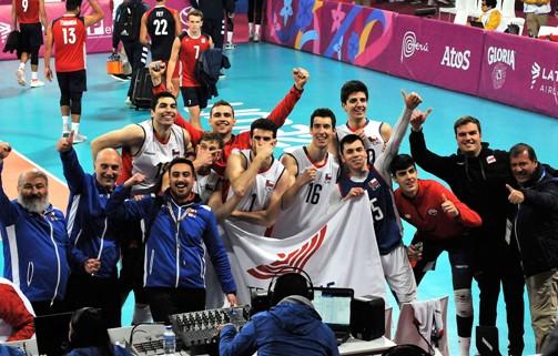 Histórica selección chilena de vóleibol regresa a Rancagua