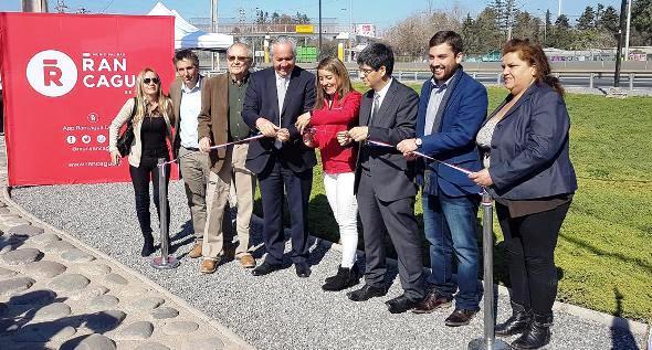 Inauguran nuevo nudo vial en el cruce de Ruta Travesía – Alameda