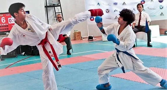 Campeonato selectivo regional de Karate Federado 2019