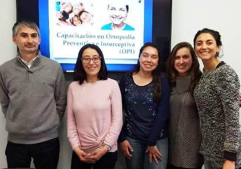 Odontólogos de Hospital de Chimbarongo se capacitaron en Ortodoncia Preventiva e Interceptiva