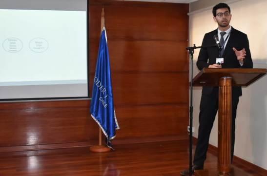 Jefe de gestión de matronería del Hospital de Santa Cruz expone en seminario de corte de apelaciones