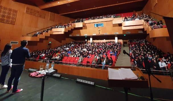 INJUV y Fundación Summer realizaron masiva charla sobre acoso y ciberacoso escolar