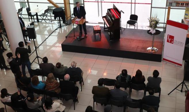 Teatro Regional Lucho Gatica Oficializ U00f3 Su Nuevo Nombre