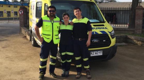 Bebé nació en ambulancia SAMU en traslado entre Pichilemu y Santa Cruz