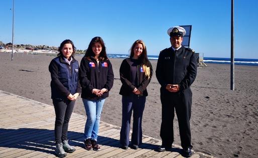 SERNATUR y Armada realizan operativo de turismo aventura en Pichilemu previo a Fiestas Patrias