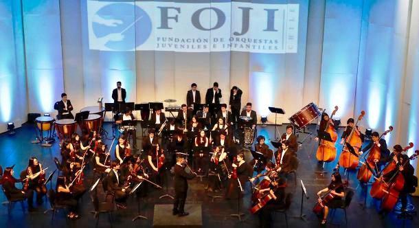 """Cerca de mil personas disfrutaron del """"Concierto de Gala"""" de la Orquesta Sinfónica Juvenilde O'Higgins"""