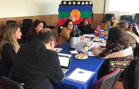 Encuentro para la implementación del Programa de Educación intercultural del MINEDUC