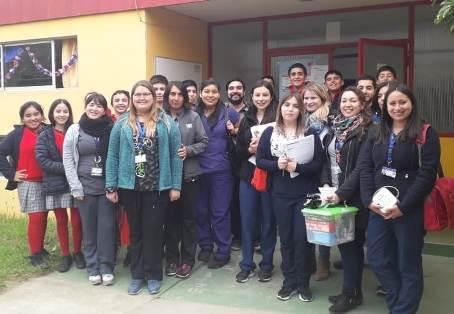 Escolares de Pichidegua participan en intervención en salud
