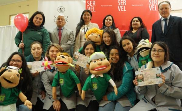 SERVEL y Santo Tomás promueven el derecho a voto en el Colegio Ricardo Olea
