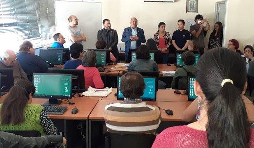 Dirigentes sociales de la región son capacitados en manejo computacional