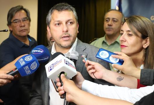 Intendente Masferrer llama a lograr acuerdos porla paz, la justicia y una nueva Constitución