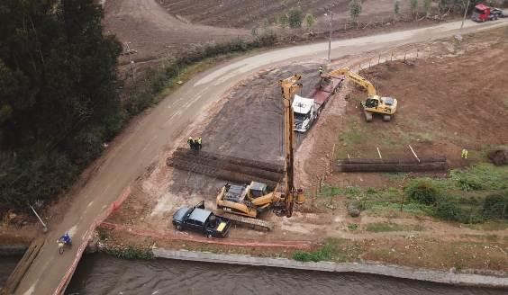 MOP O´Higgins avanza en construcción de anhelado puente La Cornellana de Peumo