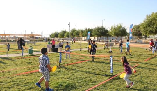Más de mil personas han participado en actividades deportivas en el Parque Cordillera