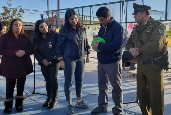 Fundación Futbol Más interviene sector oriente de Rancagua gracias a proyecto de Innovación Social de CORFO