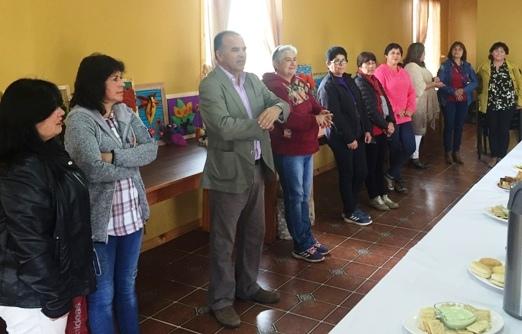 SENDA previene de Pichilemu realiza muestra  de arte-terapia en talleres de la comuna