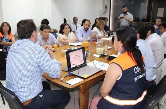 Gobernación reunió a alcaldes de Colchagua para afrontar la sequía