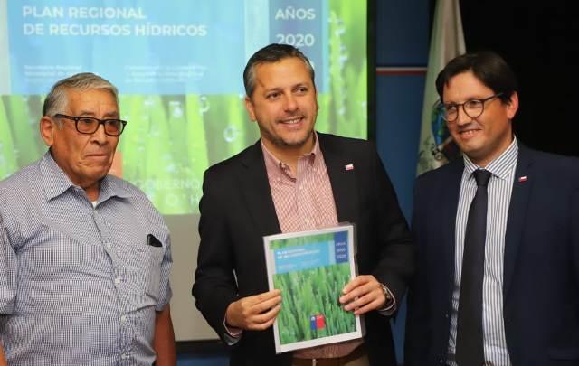 Fue presentado el primer Plan de Recursos Hídricos para la Región de O'Higgins