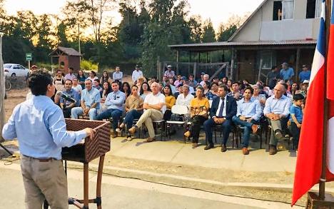 MOP O'Higgins inauguró primera pavimentación rural del 2020