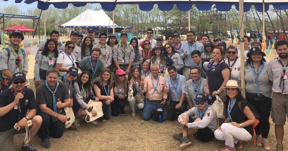 SEREMIS del Medio Ambiente de todo el país participan del Décimo Jamboree Nacional de Guías y Scouts de Chile