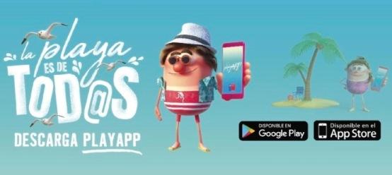 """Bienes Nacionales lanza aplicación móvil """"Playapp"""" para conocer accesos autorizados a las playas y denunciar accesos restringidos"""