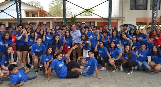 """Se cierra el """"English Summer Camp"""" en Colegio España de Rancagua"""