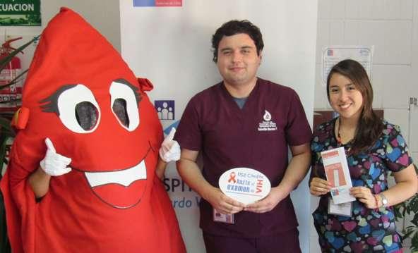 """Hospital de Rengo se suma a la campaña """"Es positivo Saber"""""""