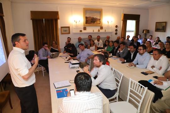 Primer Gabinete Regional 2020: Intendente Masferrer llamó a redoblar esfuerzos para cumplir con las familias de O'Higgins
