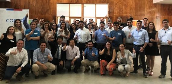 Nueve regiones de Chile se reúnen en O´Higgins para intercambiar experiencias sobre Programa Acelera de CORFO