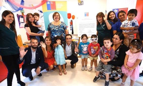 Entregan concesión de inmuebles fiscales para jardín infantil Junji y Fundación Ave Fénix en Rancagua