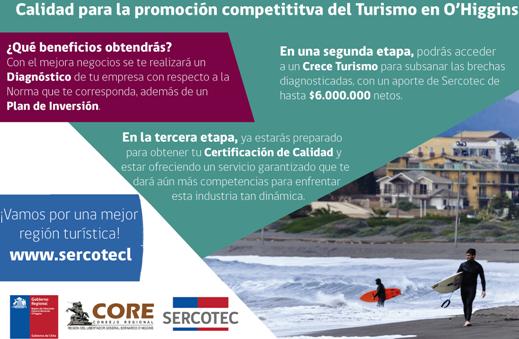 Mipes turísticas podrán acceder a Diagnóstico y Plan de inversión para mejorar calidad de sus negocios