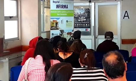 Hospital San Fernando insta a utilizar correctamente el Servicio de Urgencias y los SAPUs Oriente y Centro