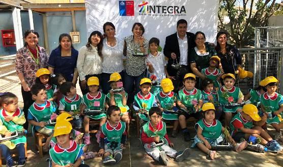 SEREMI del Medio Ambiente imparte talleres de reciclaje, huertos y Ruta del Agua a más de 300 niños de jardines Integra